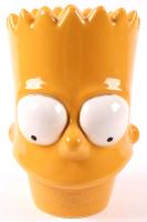 "Matt Groening Signed Bart Simpson Porcelain Cookie Jar Inscribed ""11-5-1995"" (Beckett Hologram) (See Description) at PristineAuction.com"