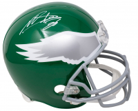 Miles Sanders Signed Eagles Full-Size Throwback Helmet (JSA COA) at PristineAuction.com