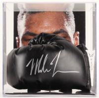 Mike Tyson Signed Everlast Boxing Glove with Photo Display Case (Beckett COA & Fiterman Sports Hologram) at PristineAuction.com