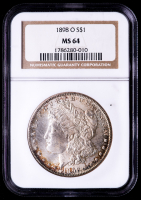 1898-O Morgan Silver Dollar (NGC MS64) at PristineAuction.com