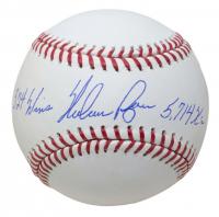 "Nolan Ryan Signed OML Baseball Inscribed ""324 Wins"" & ""5,714 K's"" (Beckett COA & Ryan Hologram) at PristineAuction.com"