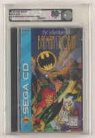 "1995 ""The Adventures of Batman & Robin"" SEGA Video Game (VGA 80) at PristineAuction.com"