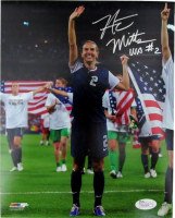 "Heather Mitts Signed Team USA 8x10 Photo Inscribed ""USA"" (JSA COA) at PristineAuction.com"