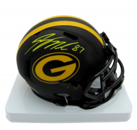 Jordy Nelson Signed Packers Eclipse Alternate Speed Mini Helmet (JSA COA) at PristineAuction.com