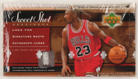 2003-04 Sweet Shot Factory Sealed Basketball Card Box at PristineAuction.com
