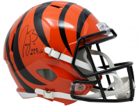 "Joe Burrow Signed Bengals Full-Size Speed Helmet Inscribed ""2020 #1 Pick (Fanatics Hologram) at PristineAuction.com"