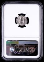Caracalla AD 198-217 - Roman Empire AR Denarius Silver Coin (NGC Encapsulated) at PristineAuction.com