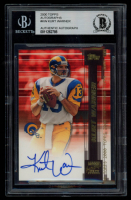 Kurt Warner 2000 Topps Autographs #KW (BGS Authentic) at PristineAuction.com