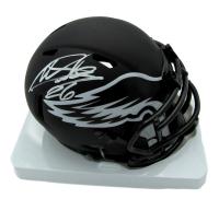 Miles Sanders Signed Eagles Eclipse Alternate Speed Mini Helmet (JSA COA) at PristineAuction.com