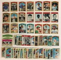 Lot of (100) 1972 Topps Baseball Cards with #445 Tom Seaver, #446 Tom Seaver, #442 Thuman Munson, #465 Gil Hodges, #439 Billy Williams at PristineAuction.com