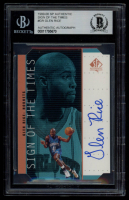 Glen Rice 1999-00 SP Authentic Sign of the Times #GR (BGS Authentic) at PristineAuction.com