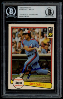 Gary Carter Signed 1982 Donruss #114 (BGS Encapsulated) at PristineAuction.com