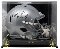 Ezekiel Elliott Signed Ohio State Buckeyes Full-Size Speed Helmet with Display Case (Beckett COA) at PristineAuction.com