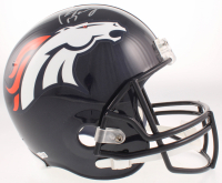 Peyton Manning Signed Broncos Full-Size Helmet (Fanatics Hologram) at PristineAuction.com