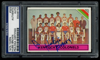 Hubie Brown Signed 1975-76 Topps #323 Kentucky Colonels (PSA Encapsulated) at PristineAuction.com
