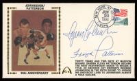 Floyd Patterson & Ingemar Johansson Signed 1990 FDC Envelope (PSA COA) at PristineAuction.com