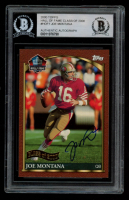 Joe Montana 2000 Topps Hall of Fame Autographs #HOF1 (BGS Authentic) at PristineAuction.com