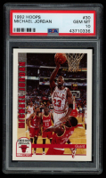 Michael Jordan 1992-93 Hoops #30 (PSA 10) at PristineAuction.com