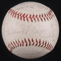 Hall of Famers & Stars Baseball Signed by (19) with Ralph Kiner, Joe DiMaggio, Willie McCovey, Don Larsen (JSA LOA) at PristineAuction.com