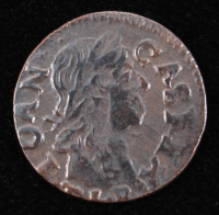 John II Casimir (1648-1668) Poland Solidus Copper Coin at PristineAuction.com