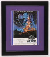 """Spain Release """"Star Wars"""" 13x15 Custom Framed Print Display at PristineAuction.com"""