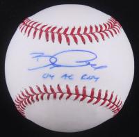 "Bobby Crosby Signed OML Baseball Inscribed ""04 AL ROY"" (TriStar Hologram) at PristineAuction.com"