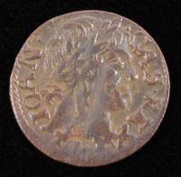 John II Casimir (1648-1668) Poland Solidus Copper Coin at PristineAuction.com
