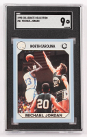 Michael Jordan 1990-91 North Carolina Collegiate Collection #61 (SGC 9) at PristineAuction.com