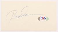 Rod Carew Signed 2.5x5 Cut (PSA COA) at PristineAuction.com