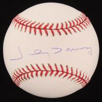 Johnny Damon Signed OML Baseball (Steiner COA) at PristineAuction.com