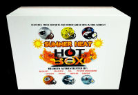 "Hot Box Full Size Football Helmet Mystery Box! ""Summer Heat"" - Pristine Exclusive #/250 at PristineAuction.com"