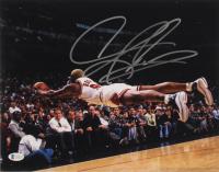 Dennis Rodman Signed Bulls 11x14 Photo (Beckett Hologram) at PristineAuction.com
