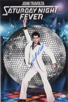 "John Travolta Signed ""Saturday Night Fever"" 12x18 Photo (Beckett COA) at PristineAuction.com"