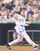 Larry Walker Signed Rockies 11x14 Photo (Beckett COA) at PristineAuction.com