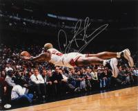 Dennis Rodman Signed Bulls 16x20 Photo (Beckett Hologram) at PristineAuction.com
