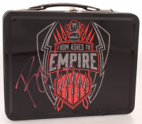 """Roman Reigns Signed """"From Ashes To Empire"""" Metal Lunchbox (JSA Hologram) at PristineAuction.com"""