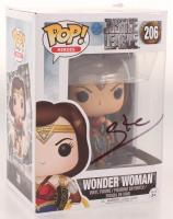 "Gal Gadot Signed ""Justice League"" #206 Wonder Woman Funko Pop! Vinyl Figure (PSA Hologram) at PristineAuction.com"