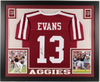 Mike Evans Signed 35x43 Custom Framed Jersey (JSA COA) (Imperfect) at PristineAuction.com