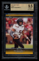 Pat Mahomes II 2017 Leaf Draft Gold #56 (BGS) 9.5 at PristineAuction.com