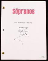 "Steve Schirripa Signed ""The Sopranos (Pilot)"" Full Episode Script (AutographCOA COA) at PristineAuction.com"