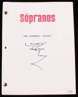 "Steve Schirripa Signed ""The Sopranos (Pilot)"" Full Episode Script (AutographCOA COA) at PristineAuction.com"