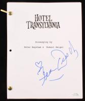 "Fran Drescher Signed ""Hotel Transylvania"" Movie Script (AutographCOA COA) at PristineAuction.com"