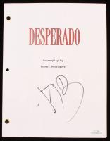"Antonio Banderas Signed ""Desperado"" Movie Script (AutographCOA COA) at PristineAuction.com"