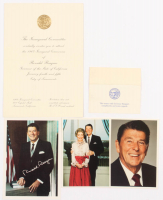 Lot of (5) 1967 Ronald Reagan California Gubernatorial Inauguration Items with (3) Postcards at PristineAuction.com
