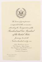 Vintage 1967 John F. Kennedy Inauguration Invitation at PristineAuction.com