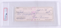 "Theodore ""Ted"" Williams Signed Hand-Written 1979 Personal Bank Check (PSA Encapsulated) at PristineAuction.com"