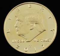 2017 Donald Trump Presidential Commemorative Coin at PristineAuction.com