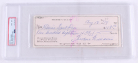 """Theodore """"Ted"""" Williams Signed Hand-Written 1979 Personal Bank Check (PSA Encapsulated) at PristineAuction.com"""