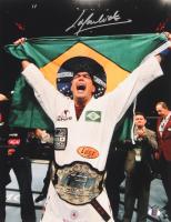 Lyoto Machida Signed UFC 11x14 Photo (Sports Integrity COA) at PristineAuction.com