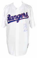 Nolan Ryan Signed Rangers Jersey With Multiple Inscriptions (Beckett COA) at PristineAuction.com